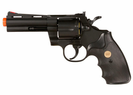 UHC Airsoft Revolver 4 Barrel - Black