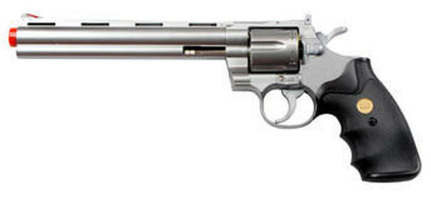 UHC Airsoft Revolver 8 Barrel - Silver