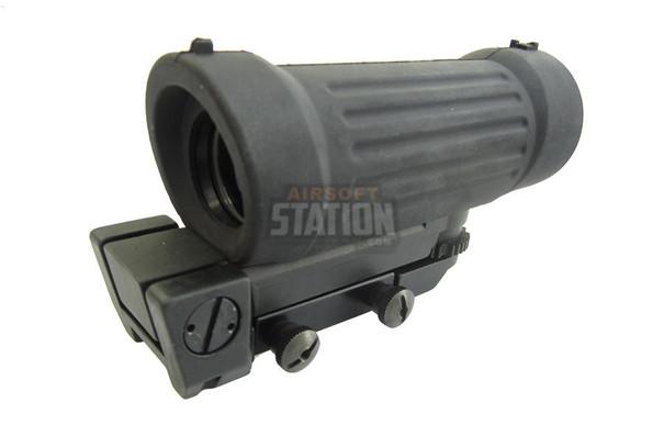 GandG C79 ELCAN Style 4x Magnification Scope, Black