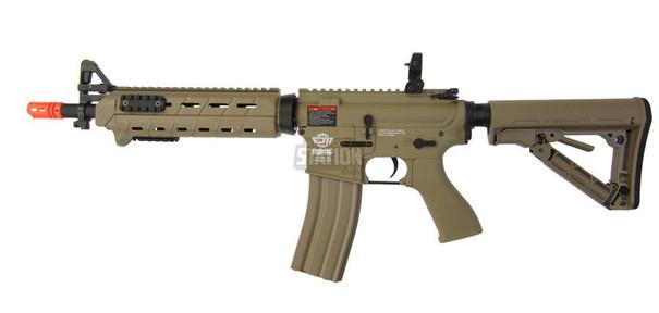 GandG CM16 MOD 0 Combat Machine Tan Airsoft Rifle