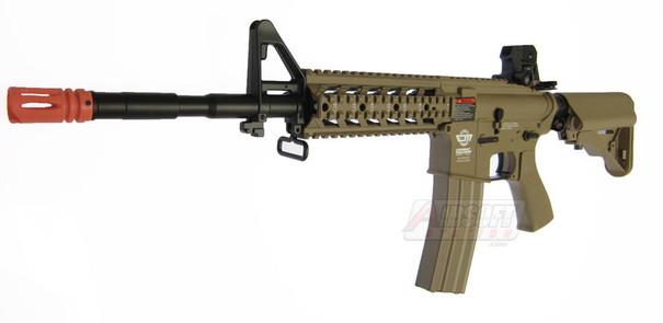 GandG CM16 Raider-L Tan High Velocity Version Airsoft Rifle