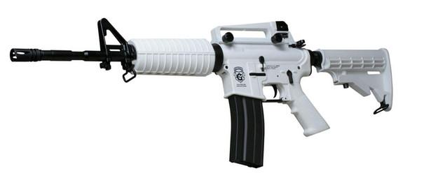 GandG Combat Machine M4A1 Chione Winter White Blowback Airsoft Rifle