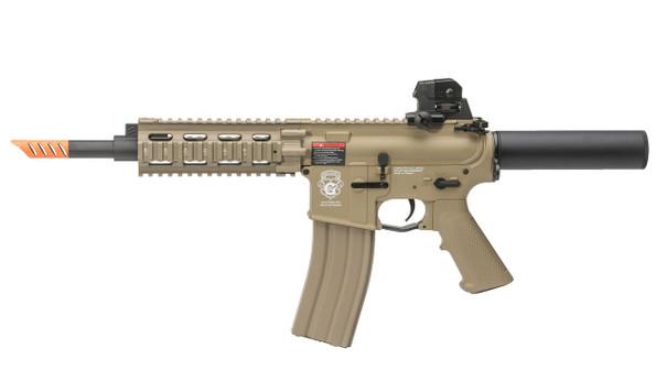 GandG Combat Machine CQW WASP Blowback Tan Airsoft Rifle