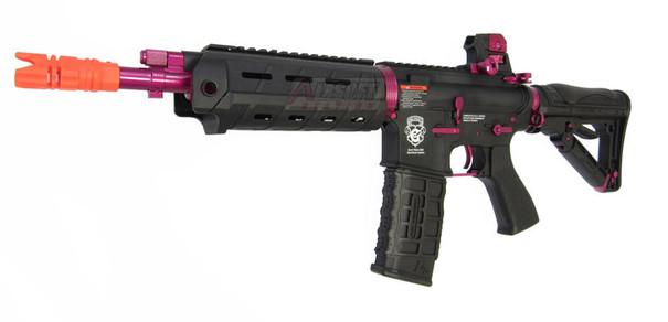 GandG Combat Machine G26 Black Rose Electric Blowback Airsoft Rifle