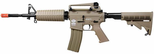 GandG Combat Machine CM16 Carbine AEG, Tan