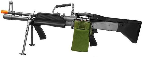 AandK MK43 Full Metal Support Airsoft Rifle