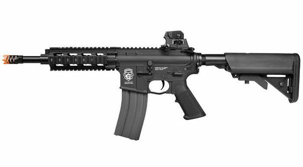 GandG GR16 CQW Rush Blowback AEG Airsoft Rifle