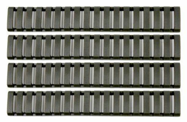 GandG Ladder Rail Covers, OD Green