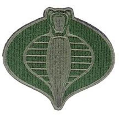 UKARMS Cobra Commander Velcro Patch OD