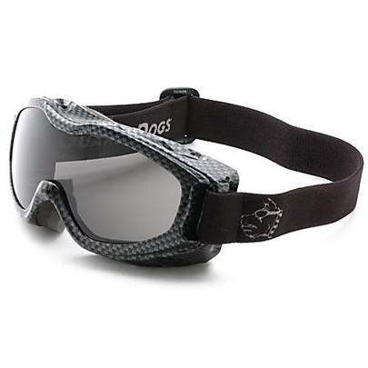 GOGGS Evader II Over-RX Goggles w/ Fogstopper, Clear Lens, Carbon Frame
