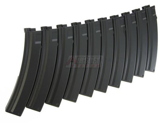 HandK 95 Round Mid Cap MP5 Magazines, 10 Pack