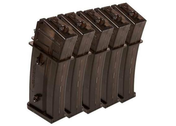HandK G36 470 Round High Capacity Magazines, 5 Pack