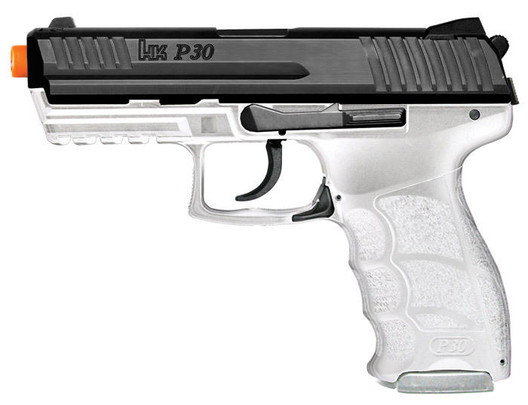 HandK P30 Clear Electric Airsoft Pistol by Heckler and Koch