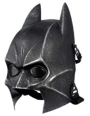 Batman Airsoft Mask, Weathered Black