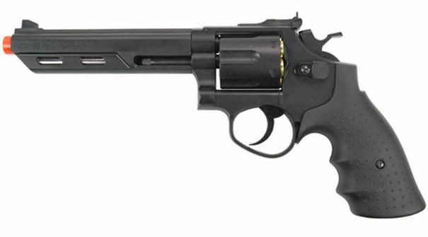 HFC HG-133 Savaging Bull 6 Barrel Gas Revolver, Black