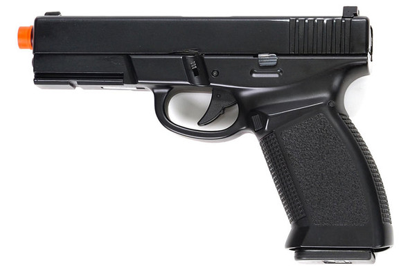 HFC 189 Dark Hawk Police Style Green Gas Blowback Pistol - Full Metal