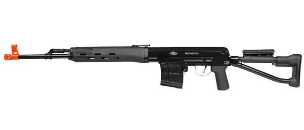 Aftermath Dragunov Airsoft Sniper Rifle, Black, Fully Licensed
