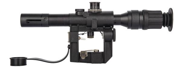Illuminated 4x26 PSO-1 Style SVD Sniper Rifle Scope