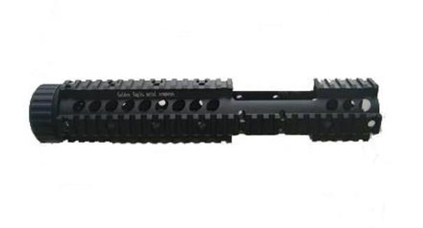 JG CNC Aluminum Quad Rail M4 RIS