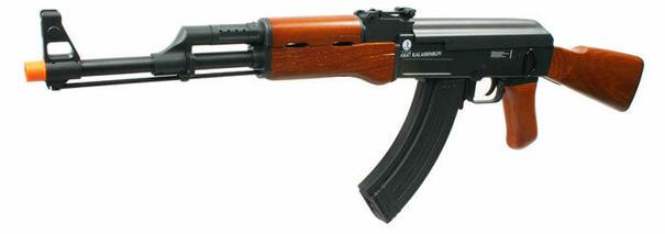 Kalashnikov AK47 Premium Full Metal and Real Wood Blowback Airsoft Rifle