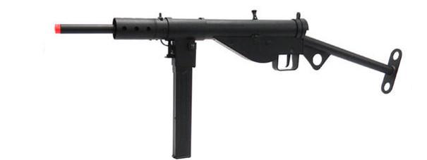 AGM WWII British Sten MKII AEG Airsoft Rifle, Black