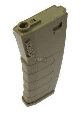 KWA K120 Polymer Midcap Magazine for M4 / M16 Series Airsoft AEG Rifles, FDE