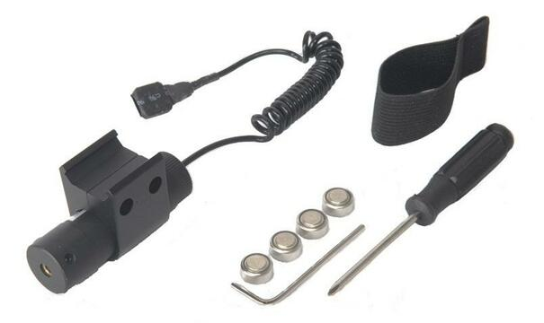 Airsoft Adjustable Full Metal RIS Laser Sight