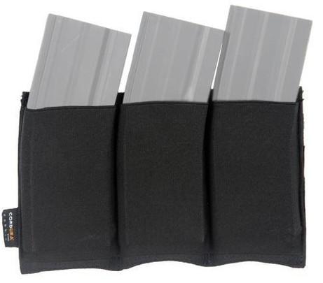 Lancer Tactical Triple M4 Magazine Pouch - Black