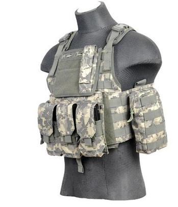 Lancer Tactical Assault Plate Carrier Vest For AR, ACU