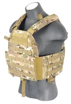 Lancer Tactical CA-311C 6094 Plate Carrier Vest, Camo
