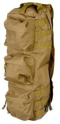 Lancer Tactical Tactical Shoulder Go Pack Bag, Tan