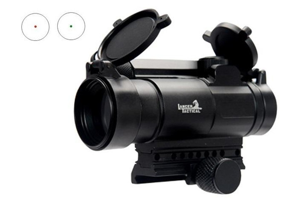 Lancer Tactical Full Metal Red and Green Dot Sight
