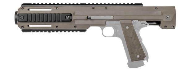 Lancer Tactical Carbine Conversion Kit for 1911/MEU Pistols, Tan