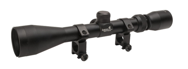 Lancer Tactical Full Sized 3-9x40 Metal Rifle Scope