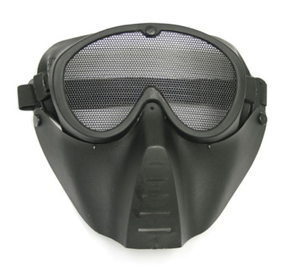 TSD Airsoft Face Mask - Black