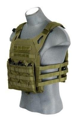 Lancer Tactical JPC Jumpable Plate Carrier, OD Green