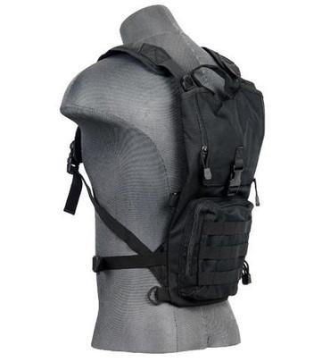 Lancer Tactical Lightweight Hydration Pack, Black