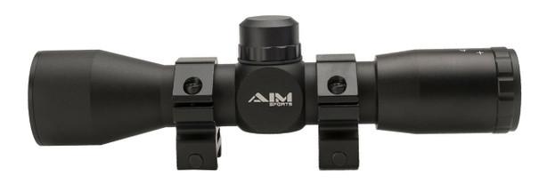 Aim Sports 4X32 Compact Mil-Dot Scope w/ Rings