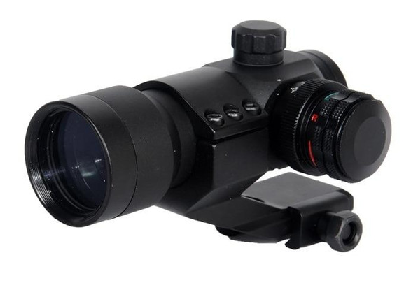 Lancer Tactical Red/Green Dot Sight w/ Cantilever Mount, 8 Reticles