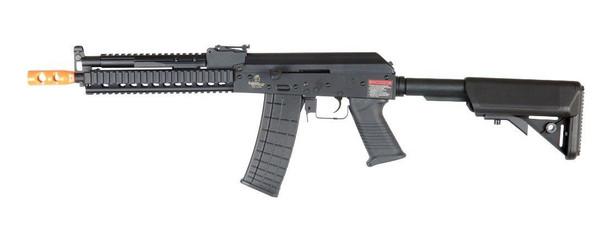 Lancer Tactical RIS AK Tactical AEG Airsoft Gun, Black
