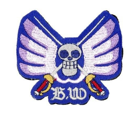 Lancer Tactical Velcro Skull Patch, Type-C