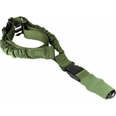Aim Sports One Point Bungee Rifle Sling, Green