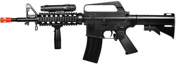 Wells M16A4 Style Spring Rifle w/ Accessories