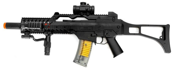 M41K1 Spring Powered Airsoft Rifle, MK36C style