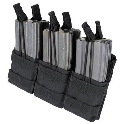 MA44 Triple Stacker M4 Mag Pouch, Black