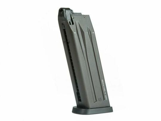 Magazine for Gas Blowback HandK USP by KWA, 25 Rounds