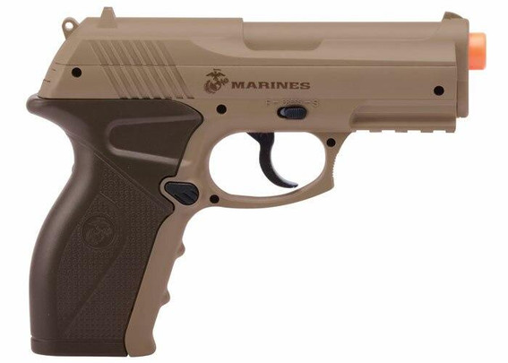 Crosman Marines Airsoft CP01 CO2 Airsoft Pistol, Tan