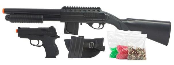 Mossberg Tactical Full Stock Shotgun Airsoft Kit