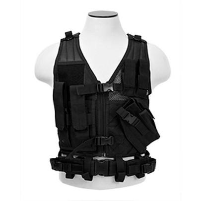 NC Star Childrens Tactical Vest, Black