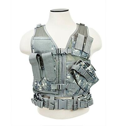NC Star Childrens Tactical Vest, Digital Camo
